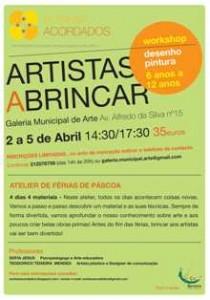 workshop desenho e pintura