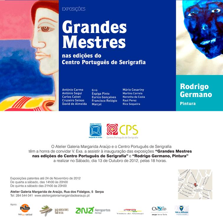 Exposição Grandes Mestres nas edições do Centro Português de ... 2a0363acb81c3