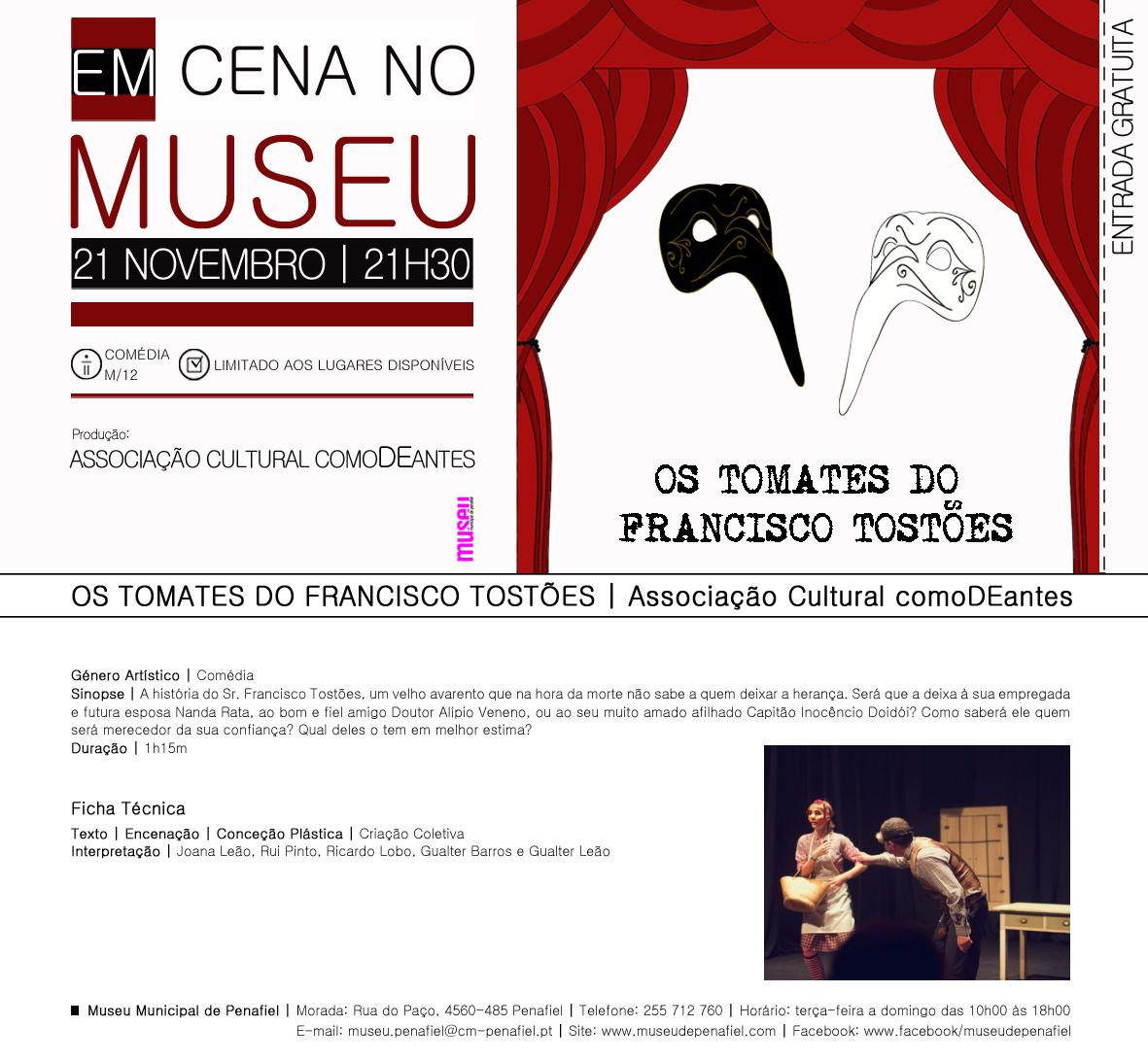 Convite_EmCenaNoMuseu