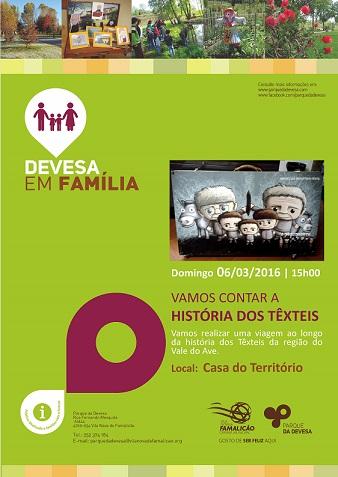 Cartaz Devesa em Familia 2016_0306 História dos Texteis