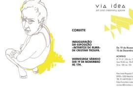 Convite exposição individual Cristina Troufa