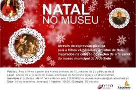 Pais e Filhos - Natal no Museu Municipal de Alcochete