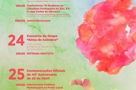 Cartaz Programa 98º Aniversário de FN