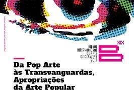 Cartaz XIX Bienal Internacional de Arte de Cerveira