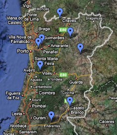 mapa de portugal google maps Google actualiza mapa de Portugal   pporto.pt mapa de portugal google maps
