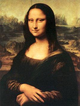 Mona Lisa, Museu do Louvre, Paris, França