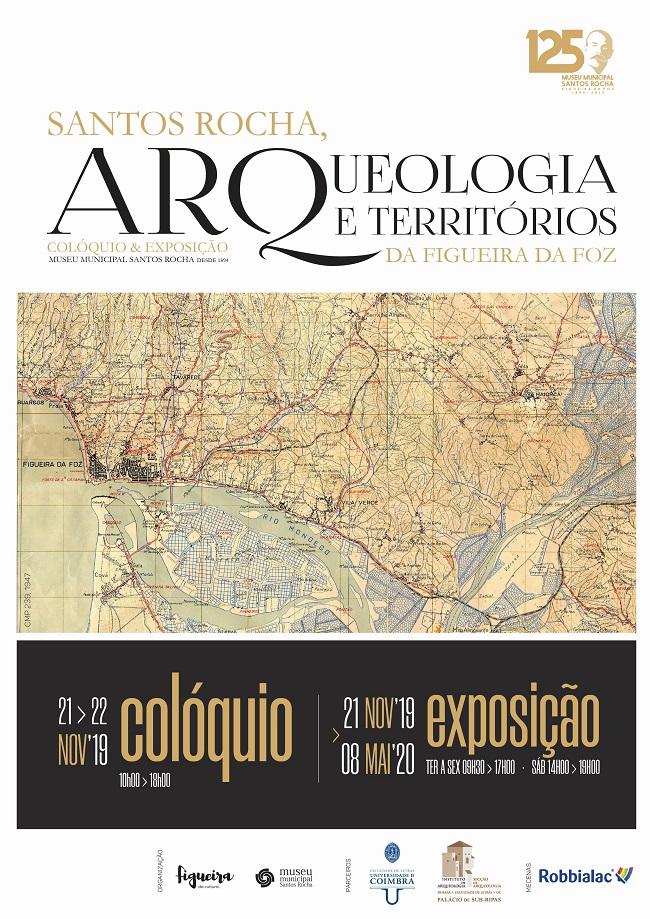 Colóquio, Arqueologia, Santos Rocha, Figueira da Foz