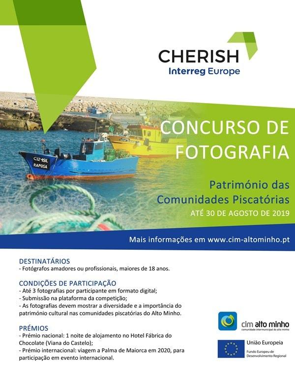 Concurso fotografia, comunidades piscatórias, CIM alto Minho