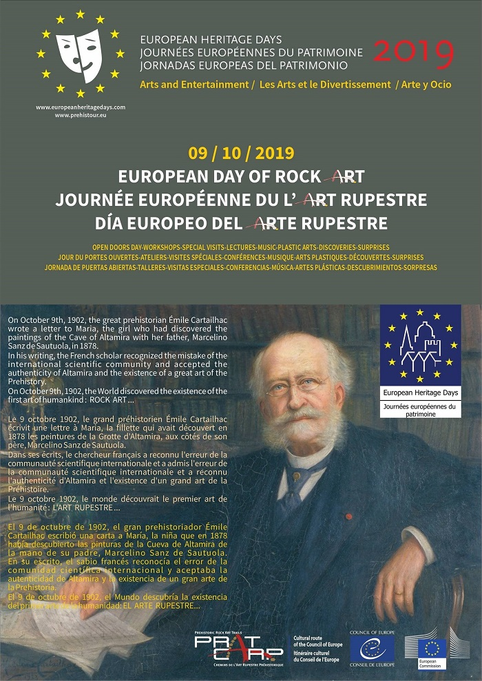 Arte Rupestre, Dia Europeu