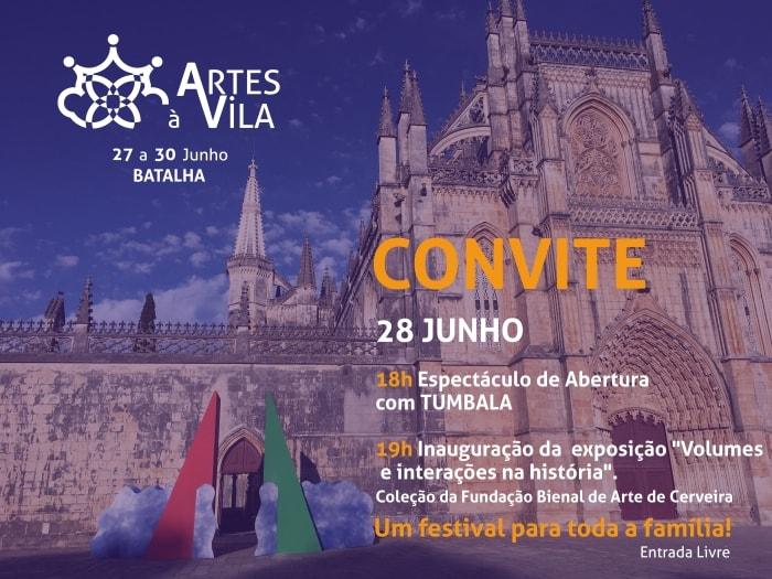 Fundação bienal de Arte Cerveira, Mosteiro da Batalha