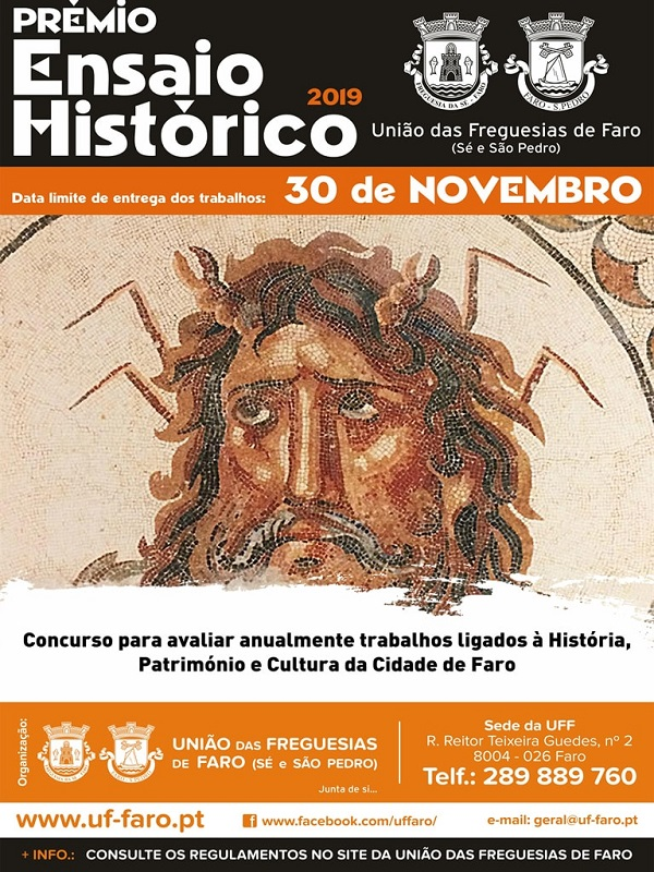 Prémio, Ensaio, História, Faro