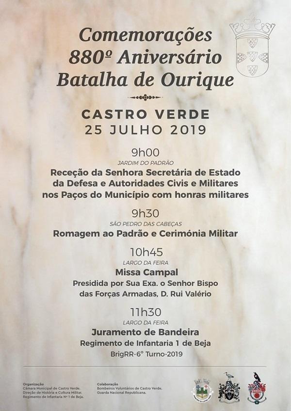 800 anos Batalha de Ourique, Castro Verde