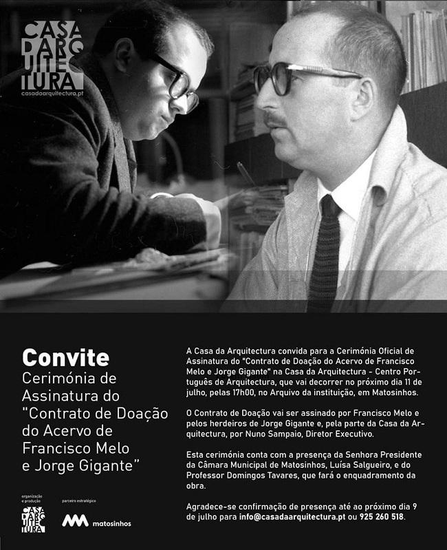 Francisco Melo, Jorge Gigante, Casa da Arquitectura