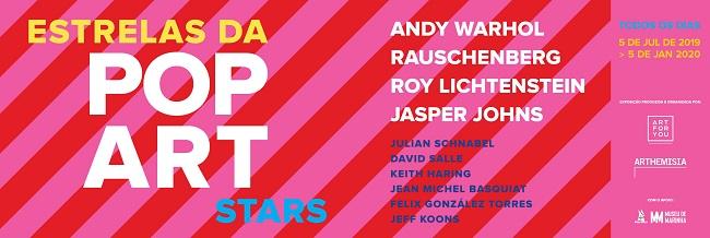 Exposição Estrelas Pop Art