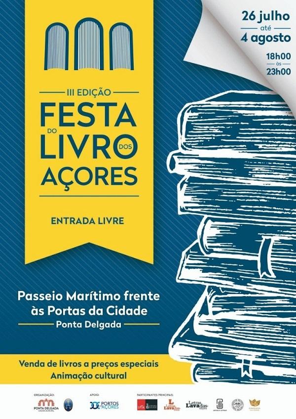 Feira do Livro, Ponta Delgada, Açores