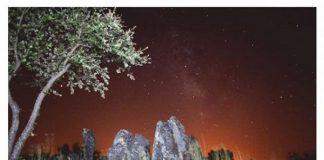 Mação, Foz do Rio Frio, Visita noturna