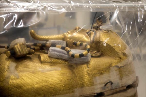 Sarcófago Tutankhamon