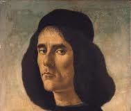 Retrato de Michele Marullo Tarcaniota Boticelli