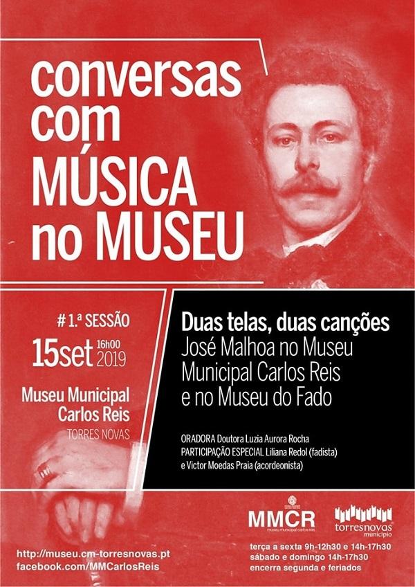 Conversas com música, Museu Carlos Reis, Torres Novas