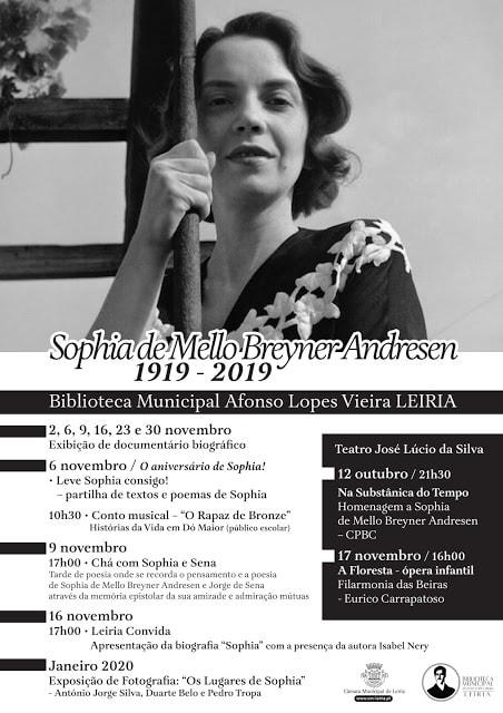Celebração Sophia Mello Breyner, Leiria