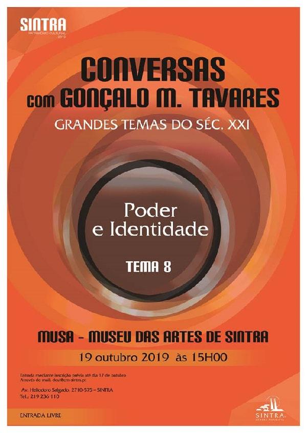 Conversa Goncalo M. Tavares, MUSA. Sintra