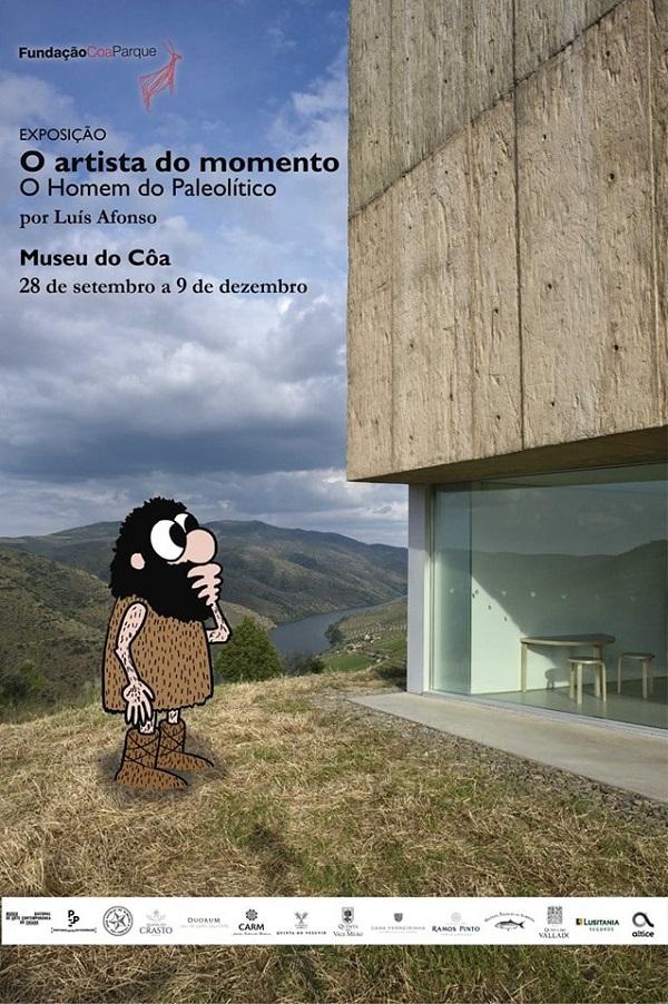 Exposição Cartonon, Museu Côa, Vila Nova de Foz Côa