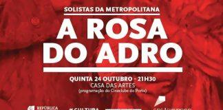 Rosa do Adro, Casa das Artes, DRCN