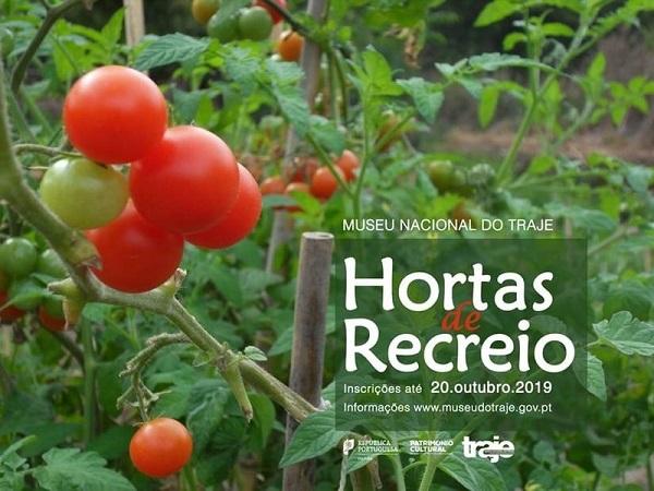 Hortas Recreio 2019, Museu Nacional do Traje, 2019