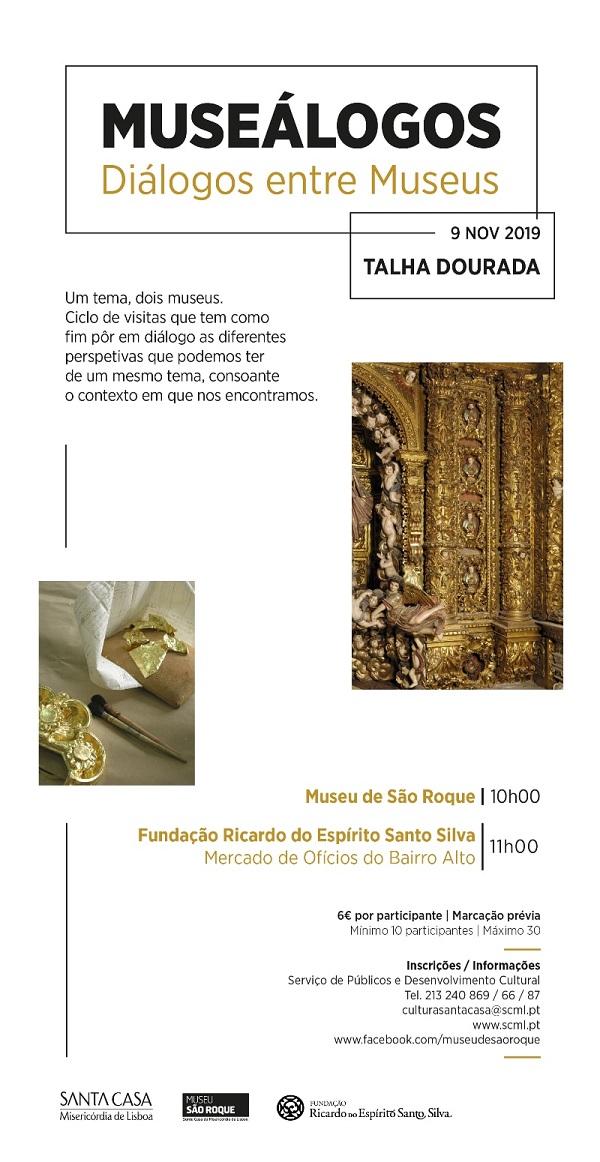 Museálogos Talha Dourada, Lisboa