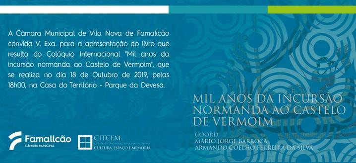Publicação Castelo de Vermoim, Vila Nova de Famalicão