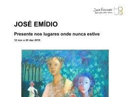 Galeria José Rosinhas, Exposição José Emídio