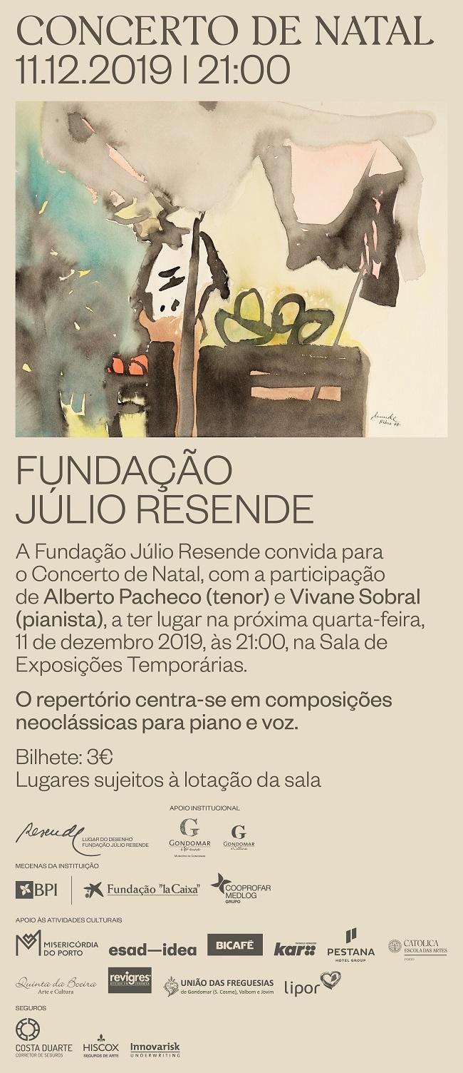 Concerto de Natal, Lugar do Desenho, Fundação Júlio Resende, Gondomar