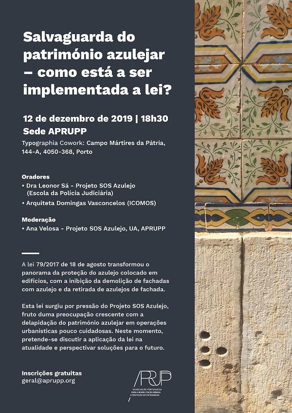 Debate Património Azulejar, Porto