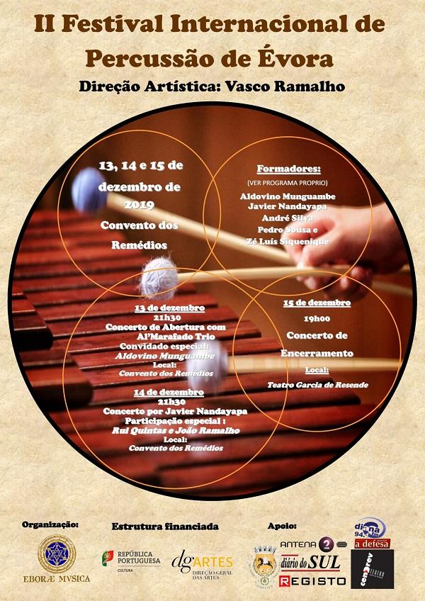 II Festival Percussão de Évora