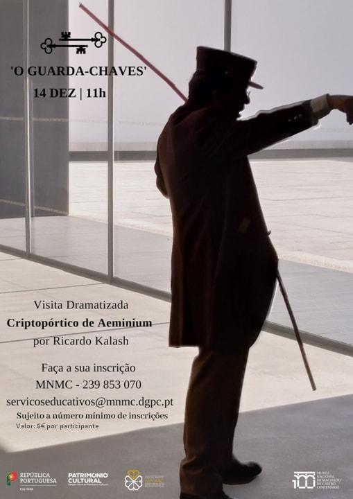 Visita dramatizada, Museu Nacional Machado de Castro, Coimbra