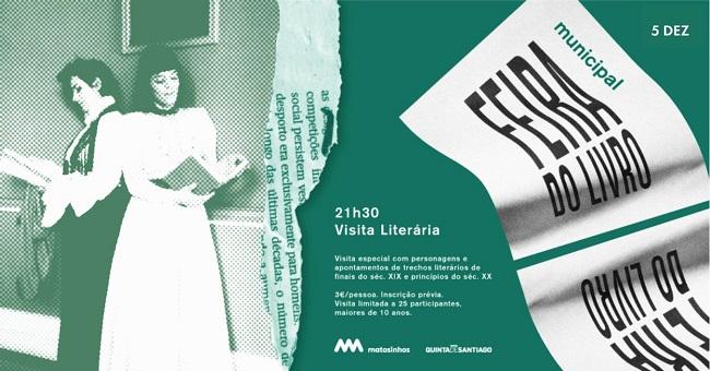 Visita Literária, Museu Quinta de Santiago, Matosinhos