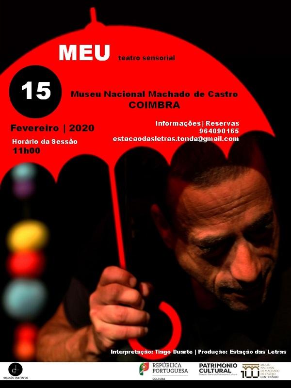 Teatro Sensorial Meu, Museu Nacional Machado de Castro, Coimbra