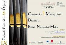Concerto 6 Orgãos, Palácio Nacional de Mafra
