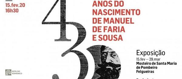 Exposição Manuel Faria Sousa, Mosteiro de Pombeiro