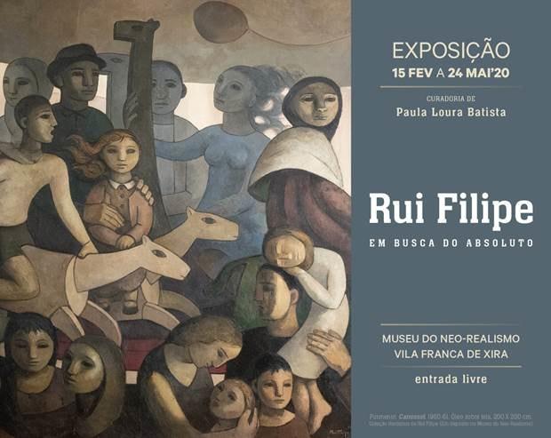 Exposição Rui Filipe, Museu do Neo-Realismo, Vila Franca de Xira