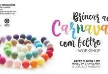 Workshop Carnaval Museu da Chapelaria