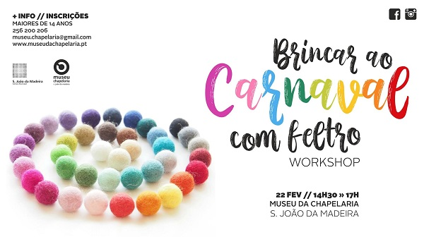 Workshop Carnaval Museu da Chapelaria