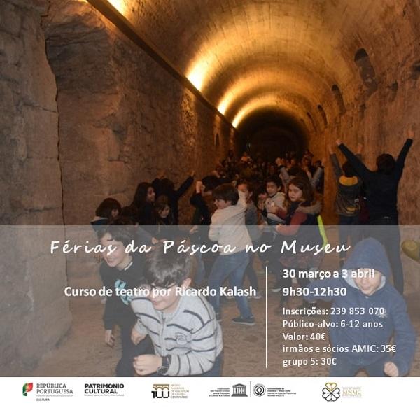 Férias Páscoa Museu Nacional Machado Castro, Coimbra