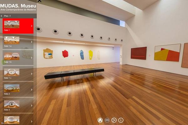 MUDAS Madeira, visita virtual
