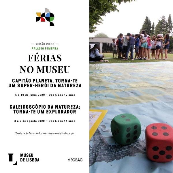 Férias Museu Lisboa 2020