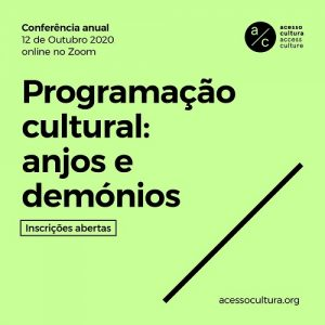 Conferencia Anual Acesso Cultura 2020