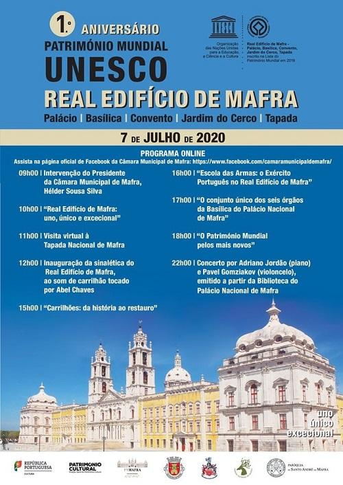 Palácio Mafra_ aniversario_unesco